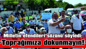 """""""BİZE KÖMÜR DEĞİL; SU LAZIM, EKMEK LAZIM"""""""