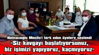"""HELVACIOĞLU: """"ERİKLİ'Yİ SUSUZ GÜNLER BEKLİYOR"""""""