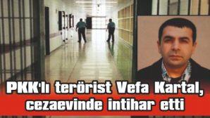 PKK'LI TERÖRİST VEFA KARTAL, EDİRNE F TİPİ KAPALI CEZAEVİNDE İNTİHAR ETTİ