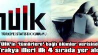 TRAKYA İLLERİ İLK 4 SIRADA YER ALDI