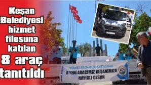 """BAŞKAN HELVACIOĞLU: """"1 YILDA 29 ARAÇ KAZANDIRDIK"""""""
