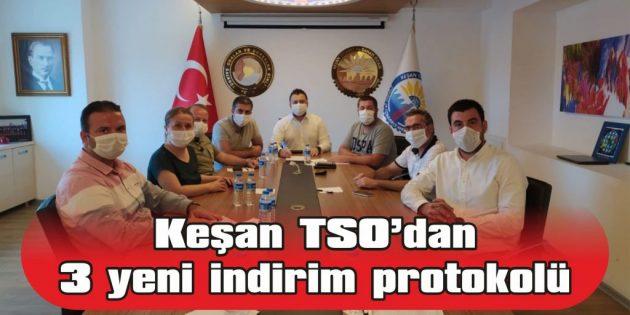 KEŞAN TİCARET VE SANAYİ ODASI'NDAN 3 YENİ İNDİRİM PROTOKOLÜ