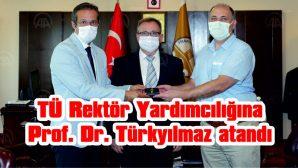 PROF. DR. YURTCAN GÖREVİ TÜRKYILMAZ'A DEVRETTİ