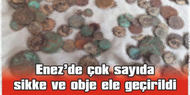 KEŞAN POLİSİNDEN ENEZ'E TARİHİ ESER OPERASYONU
