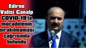 """""""SALGINLA MÜCADELE SÜREKLİLİK ARZ ETMELİ"""""""
