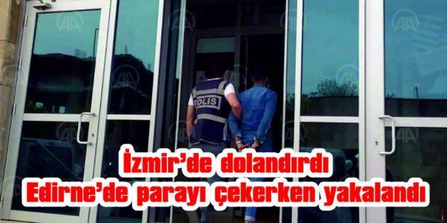 YAŞLI KADININ 250 BİN TL'SİNİ DOLANDIRDI