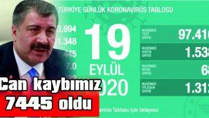 TOPLAM VAKA SAYISI 300 BİNİ GEÇTİ