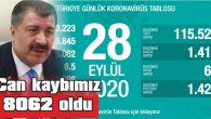 BUGÜN 1.412 YENİ VAKA TESPİT EDİLDİ