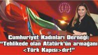 """""""TÜRK KAPISI, ERMENİSTAN KAMASI'NA TESLİM EDİLEMEZ"""""""