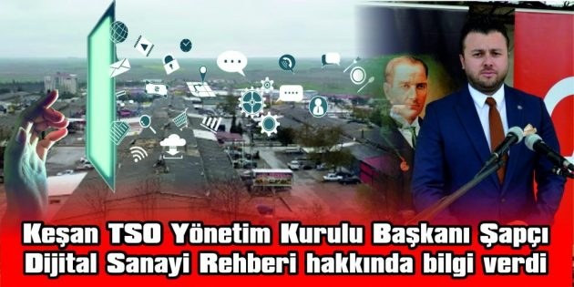 """ŞAPÇI: """"TİCARETTE KENDİNİ YENİLEYEN ESNAF, BUGÜN DAHA FAZLA PARA KAZANIYOR"""""""