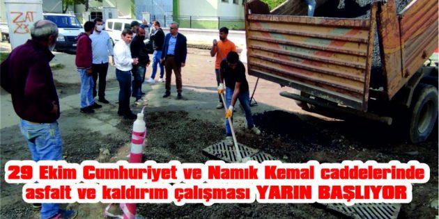 CADDELER ÜZERİNDE PARK YAPILMAMASI İSTENDİ