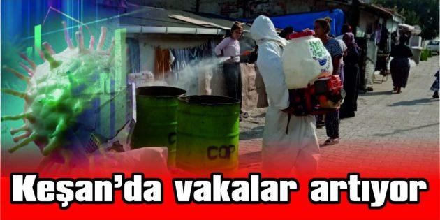 YENİMESCİT'E DE SIÇRADI