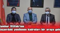 AK PARTİ'DEN MHP'YE ZİYARET…