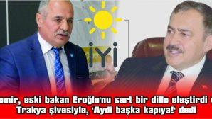 'AYDİ BAŞKA KAPIYA!'