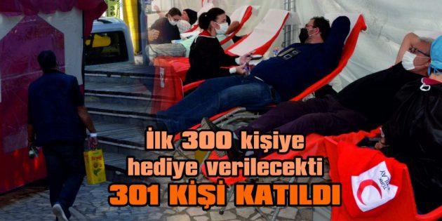 """YAĞ HEDİYELİ 'KAN BAĞIŞI KAMPANYASI"""" SONA ERDİ"""