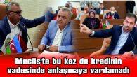 MECLİS TOPLANTISINDA GERGİN ANLAR