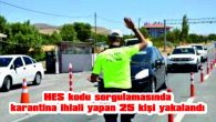 HEPSİ DE TRAFİKTE YAKALANDI