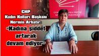 """""""KADINA ŞİDDET ARTARAK DEVAM EDİYOR"""""""