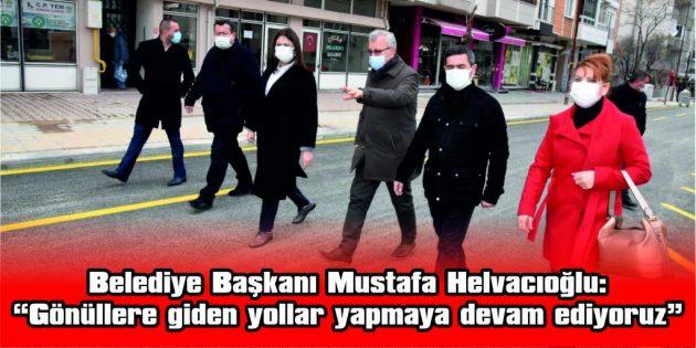 CUMHURİYET CADDESİ'NDE ASFALTLAMA ÇALIŞMALARI TAMAMLANDI