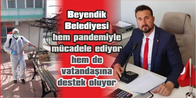 """""""BELEDİYE'DEN VATANDAŞA, EKMEK VE İÇME SUYU DESTEĞİ"""""""