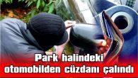 KREDİ KARTLARI, KİMLİK KARTI VE 4 BİN TL'Sİ ÇALINDI