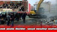 NE SOSYAL MESAFE NE DE MASKE!
