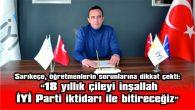 AKŞENER'İN EDİRNE PROGRAMI İPTAL EDİLDİ