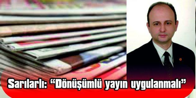 """""""VİRÜSE YAKALANAN MESLEKTAŞLARIMIZIN BİR AN ÖNCE İYİLEŞEREK, TEKRARDAN NORMAL HAYATLARINA DÖNMESİNİ DİLİYORUM"""""""