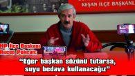 """""""BELEDİYEDE PERSONELİMİZ SON DERECE MUTSUZ VE HUZURSUZ"""""""
