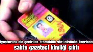 OTOMOBİLDE KOKAİN ELE GEÇİRİLDİ, ŞÜPHELİ GÖZALTINA ALINDI