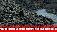 YOL, ÇİFT TARAFLI TRAFİĞE KAPATILDI