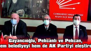 """PEKCAN: """"BAŞKAN KENDİSİ YAPMIŞ GİBİ ANLATIYOR"""""""