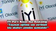 """""""GELECEK NESİLLERİMİZİ HER ANLAMDA ZOR GÜNLER BEKLEMEKTEDİR"""""""