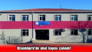 OKUL KAPISI ÇALINDI