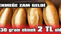 HALK EKMEK FIRININDA 230 GRAM EKMEK 1.80 TL