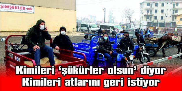 """""""MODERNLEŞMEK DEĞİL, İŞ İSTİYORUZ"""""""