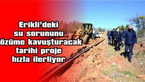 "HELVACIOĞLU: ""SEZON BAŞINDA SAHİLİMİZE SU GELECEK"""