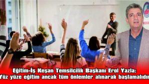 """YAZLA: """"EĞİTİM ÖNEMLİ, SAĞLIK HAYATİ"""""""