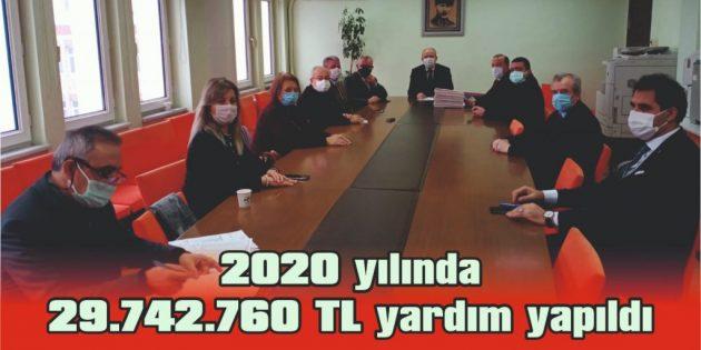 KEŞAN SYDV'DEN 2020 YILINDA 26.764 KİŞİYE YARDIM YAPILDI