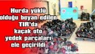 HAMZABEYLİ SINIR KAPISI'NDA…