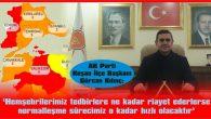 """""""TEDBİRİ ELDEN BIRAKMIYORUZ"""""""