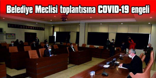 BİR MECLİS ÜYESİNİN COVID-19 TESTİ POZİTİF ÇIKTI