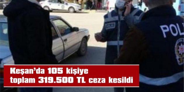 100 KİŞİ SOKAĞA ÇIKMA KISITLAMASINI İHLAL ETTİ