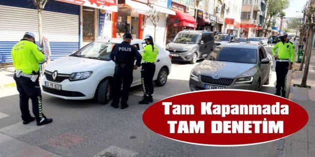 POLİS, KAPANMADA SUİSTİMALİ AFFETMİYOR