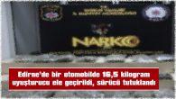 """30 PAKET UYUŞTURUCUYU, SIRT ÇANTASINA GİZLEMİŞLER"""