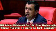 """""""AKP'NİN TÜRKLÜĞE BİR ALERJİSİ OLDUĞUNU BİLİYORUZ"""""""
