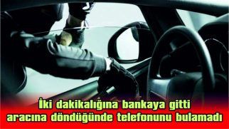 ARAÇTAN CEP TELEFONU ÇALINDI