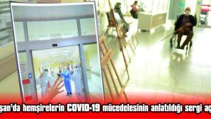 KEŞAN'DA HEMŞİRELERİN COVID-19 MÜCADELESİNİN ANLATILDIĞI SERGİ AÇILDI
