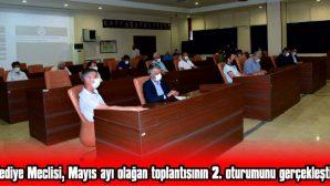 BELEDİYE MECLİSİ, MAYIS AYI OLAĞAN TOPLANTISININ 2. OTURUMUNU GERÇEKLEŞTİRDİ
