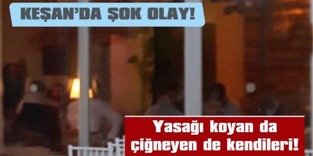 AK PARTİ'Lİ GENÇLER RESTAURANTTA İFTAR YAPTI!